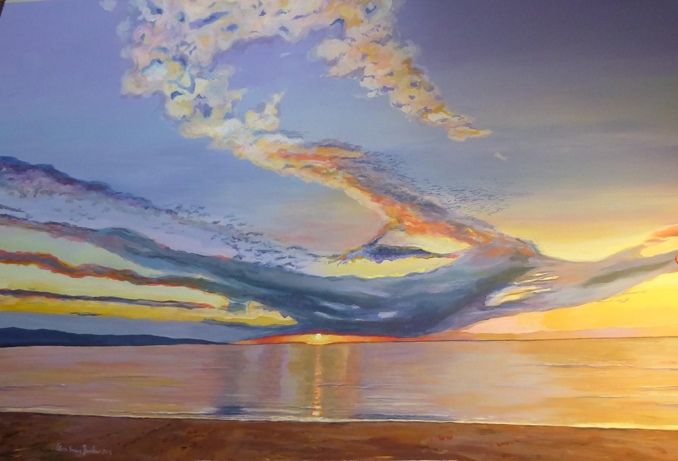 Alba di mare